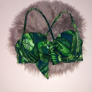 Shade & Shore | Palm Leaves Bikini Top